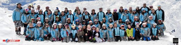 La section alpine du Club des Sports Les Menuires